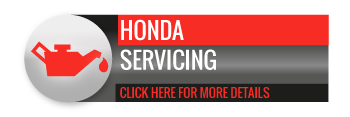 Black, grey and red Honda Servicing call to action button, with image of oil can